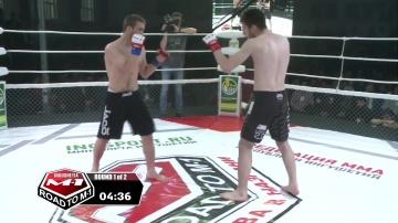 Магомедемин Миатлиев vs Ахмед Оздоев, Road to M-1: Ingushetia 3