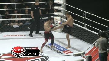 Олександр Черкасов vs Рустам Караев, Road to M-1