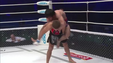 Расул Албасханов vs Ондрей Скальник, M-1 Challenge 54