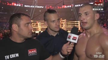 Рафал Киянчук: Я был выносливее своего соперника, M-1 Challenge 96