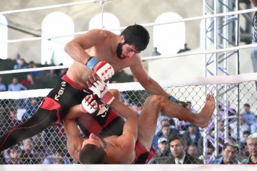 Эльмар Мамедов vs Руслан Эсмурзиев, M-1 Challenge 61
