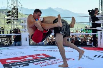 Амиран Гоголадзе vs Ибрагим Сагов, M-1 Challenge 81