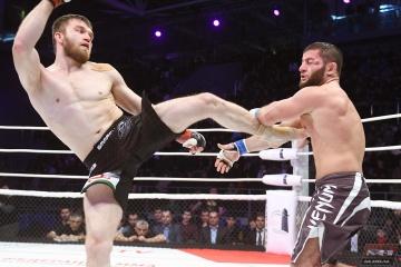 Сосо Нижарадзе vs Адам Гагиев, M-1 Challenge 86
