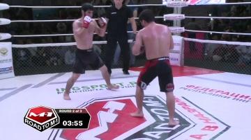 Рахман Галисханов vs Абдулла Атаев, Road to M-1: Ingushetia 4