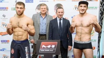 M-1 Challenge 73 Weigh-in