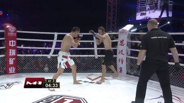 Wang Sai vs Alexey Badyukov, Road to M-1: China