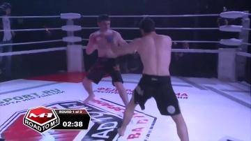 Akhmed Gaytov vs Murad Magomedaliev, Road to M-1: Ingushetia