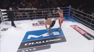 Артур Гусейнов vs Эдди Аризменди, M-1 Challenge 27