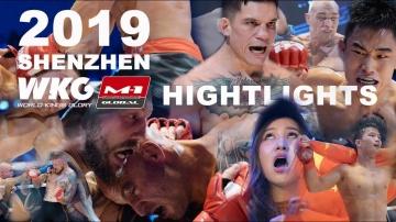 Лучшие моменты WKG & M-1 Challenge 103, Highlights, 3 августа, Шэньчжэнь, Китай