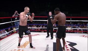 Маркус Вянттинен vs Джейсон Джонс, M-1 Challenge 12