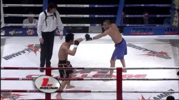 Романо Де Лос Рейес vs Франко Де Леонардис, M-1 Challenge 01