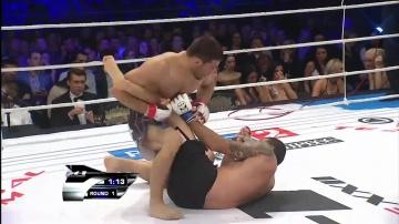 Шамиль Завуров vs Том Галликкио, M-1 Challenge 23