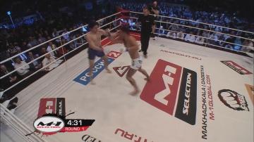 Акойдан Дюке vs Сергей Фаустов, M-1 Selection 2011 - European Tournament