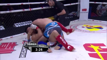 Женг Лю vs Мурад Рамазанов, WMMAA Macau 2016
