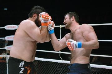 Исмаил Сагов vs Заур Гаджибабаев, M-1 Selection Online 1