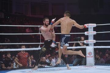 Алик Албогачиев vs Павел Гордеев, M-1 Challenge 97&Tatfight 7