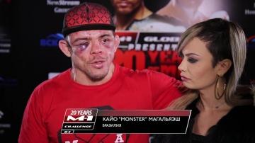 Кайо Магальяэш: Есть подозрения на перелом ноги, но проиграл по делу