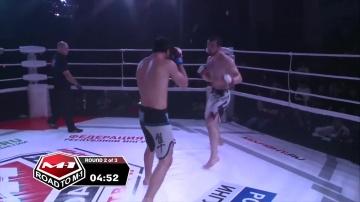 Карим Асадулаев vs Лом-Али Нальгиев, Road to M-1: Ingushetia