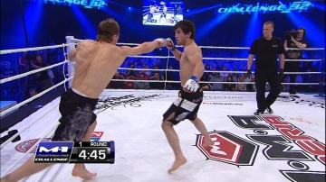 Максим Гришин vs Йоахим Кристенсен, M-1 Challenge 32