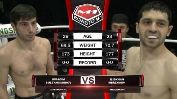 Ибрагим Султангабидов vs Илисхан Мержоев, Road to M-1