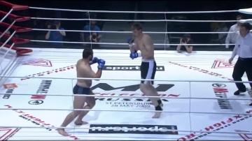 Александр Волков vs Адам Алиханов, M-1 Selection 2009 3