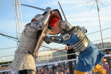 Сергей Уколов vs Майкл Айви, M-1 Challenge 50, Medieval MMA