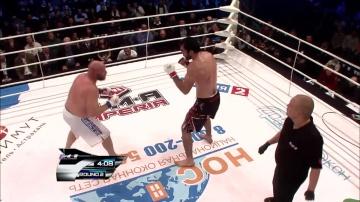 Алихан Магомедов vs Исайа Ларсен, M-1 Challenge 28