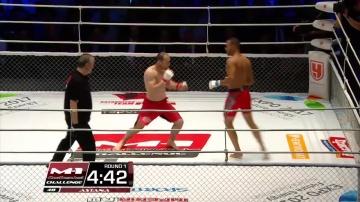 Gerardo Nunez vs Rashid Dagaev, M-1 Challenge 48