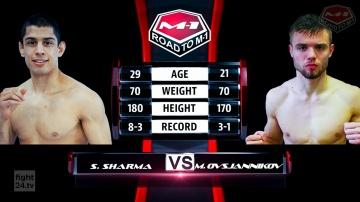 Саша Шарма vs Михаэль Овсянников, Road to M-1: Germany