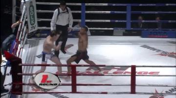 Карл Амоссоу vs Дмитрий Самойлов, M-1 Challenge 01