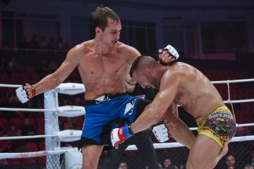 Энок Солвес Торрес vs Руслан Шамилов, M-1 Challenge 97&Tatfight 7