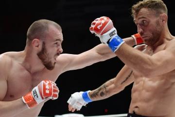 Roman Bogatov vs Mickael Lebout, M-1 Challenge 104