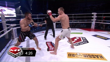 Алишер Калатов vs Виталий Якубеня, Road to M-1 - Saint Petersburg 3