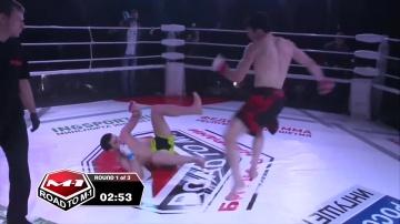 Ингисхан Оздоев vs Магомедкамиль Маликов, Road to M-1: Ingushetia