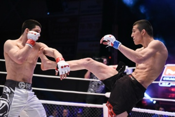 Тимур Нагибин vs Акмалджон Мамуров, M-1 Challenge 57