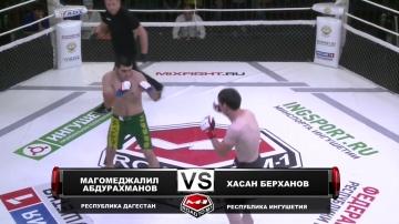 Магомеджалил Абдурахманов vs Хасан Берханов, Road to M-1: Ingushetia 4