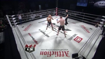 Леандро Сильва vs Дмитрий Самойлов, M-1 Challenge 15