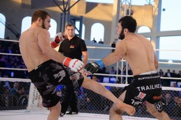 Рустам Хасанов vs Зураб Бетергараев, M-1 Challenge 52