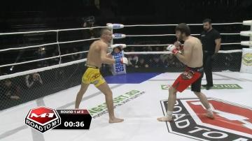 Андрей Поднебесный vs Адам Гагиев, Road to M-1