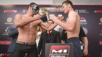 M-1 Challenge 102 Weigh-in, Nur-Sultan. Kazakhstan