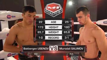 Бакберген Усенов vs Муродали Салимов, Road to M-1: Chelyabinsk