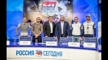 M-1 Challenge 72 Press Conferense | Пресс-конференция