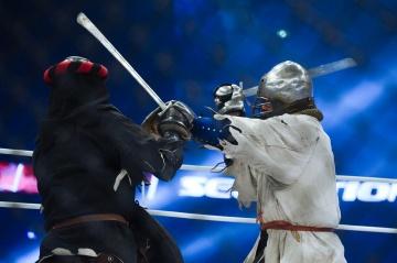 Владимир Нечипоренко vs Юрий Слободяник, M-1 Challenge 82, Medieval MMA
