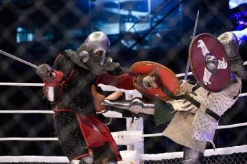 Александр Андреев vs Рустам Кукурхоев, M-1 Challenge 73, Medieval MMA