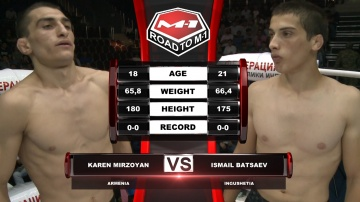 Karen Mirzoyan vs Ismail Batsaev, Road to M-1