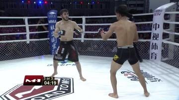 Sukhrob Aydarbekov vs Zhifa Shang, Road to M-1: China