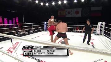 Алексей Олейник vs Джесси Гиббс, M-1 Challenge 11