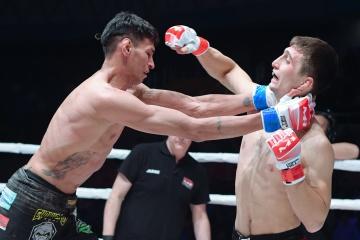 Мичел Сильва vs Хамзат Далгиев, M-1 Challenge 105