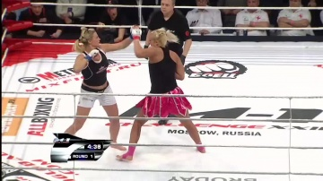 Яна Куницкая vs Синди Дандуа, M-1 Challenge 22