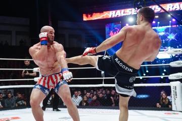 Брэндон Холси vs Михаил Рагозин, M-1 Challenge 83 & Tatfight 5